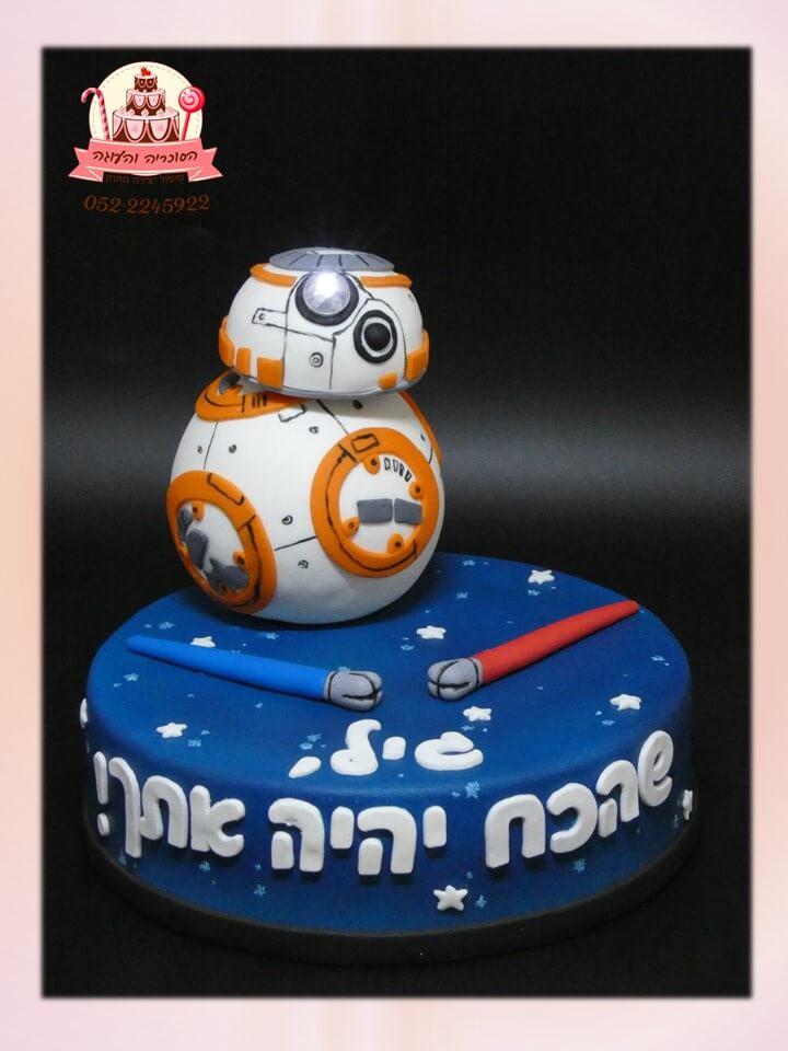 עוגת טופר רובוט, עוגת בצק סוכר של טופר רובוט מלחמת הכוכבים - דורית יחיאל