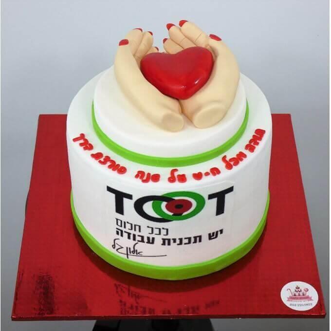 עוגות מיתוג עסקי, עוגות לאירועים עסקיים בעיצוב מבצק סוכר - דורית יחיאל
