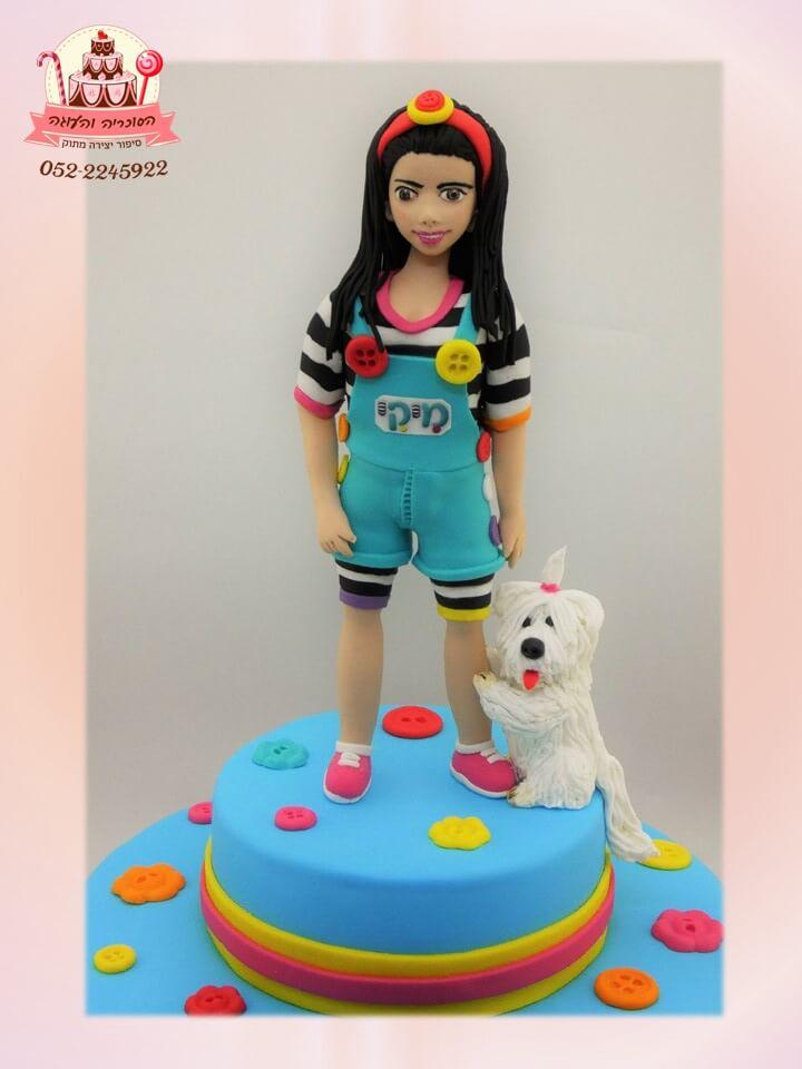 עוגת יום הולדת מיקי ופונץ' מקרוב