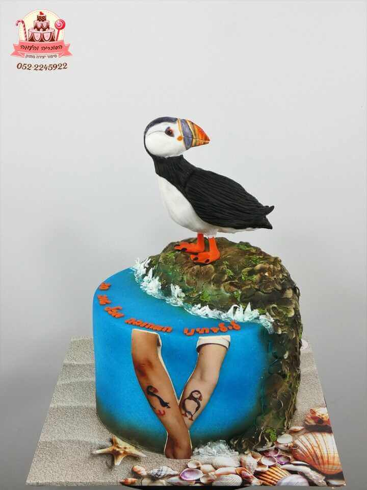 עוגה בעיצוב תוקי ים | עוגות יום הולדת לבנות | דורית יחיאל הסוכריה והעוגה