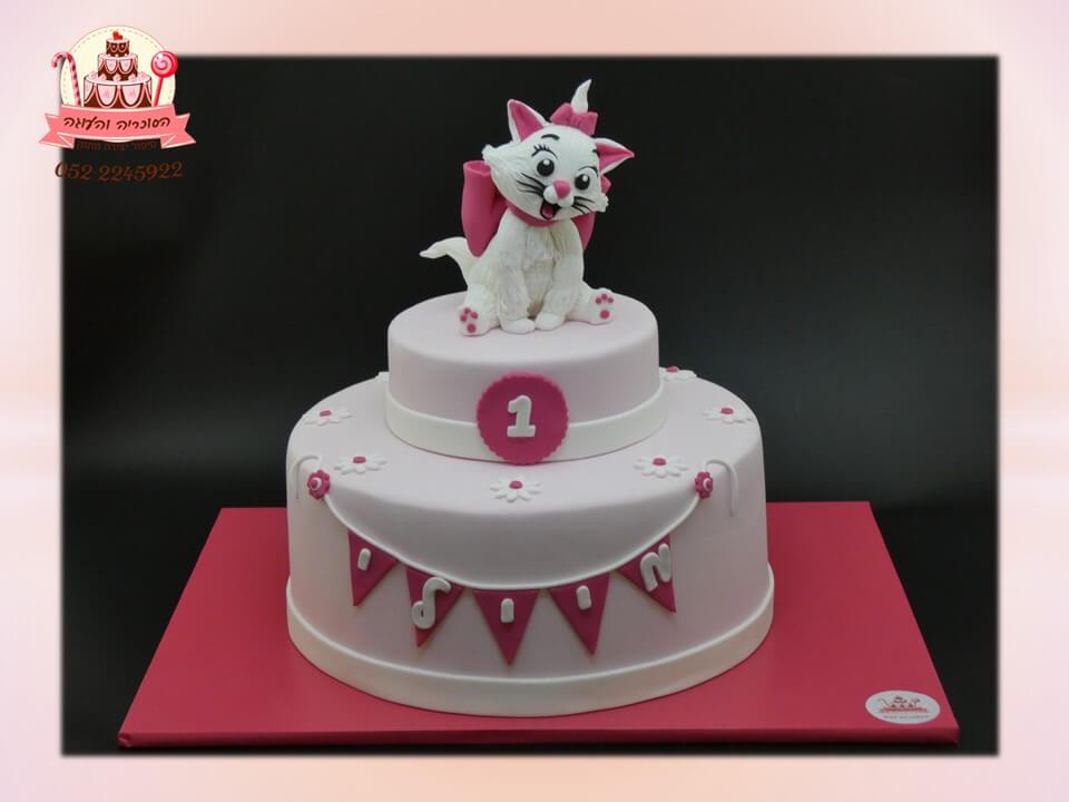 עוגה מעוצבת חתלתולה