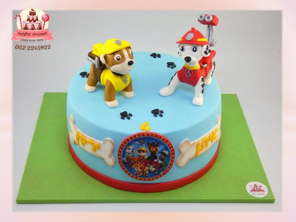 עוגת מפרץ ההרפתקאות ליום הולדת לילדים | הסוכריה והעוגה - דורית יחיאל
