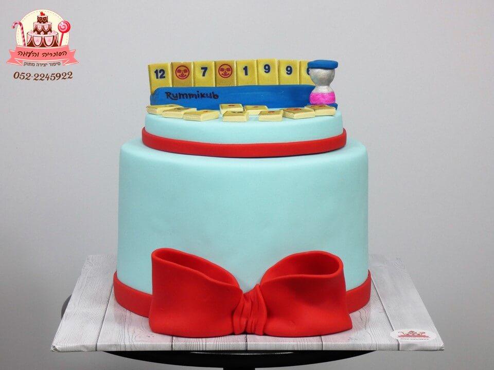 עוגות מעוצבות למבוגרים | עוגה מעוצבת רמיקוב | דורית יחיאל - הסוכריה והעוגה