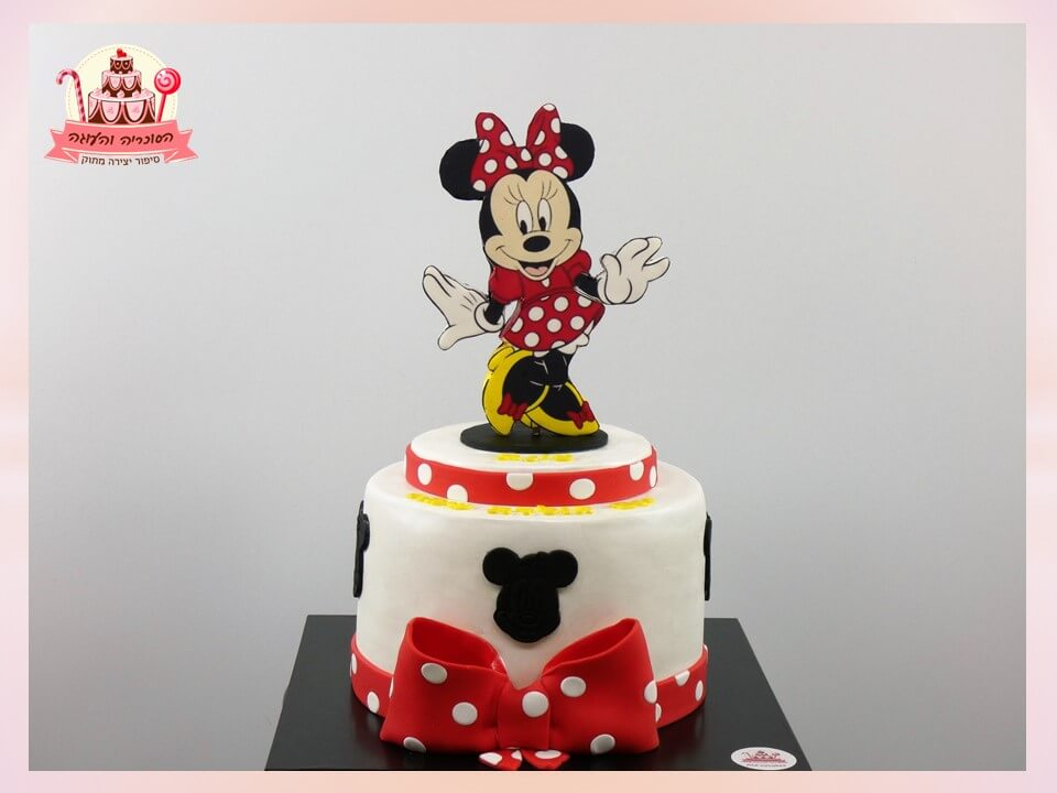 עוגה מעוצבת תמונה עומדת מיני מאוס