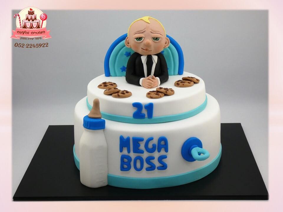 עוגה מעוצבת baby boss