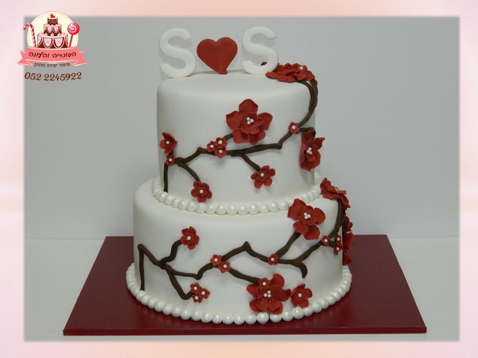 עוגות חתונה, עוגות מפוארות לחתונה ואירועים מיוחדים | הסוכריה והעוגה