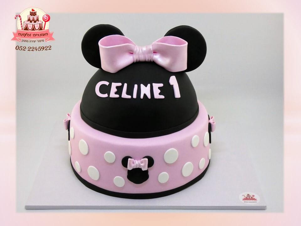 עוגת מיני מאוס 2 קומות