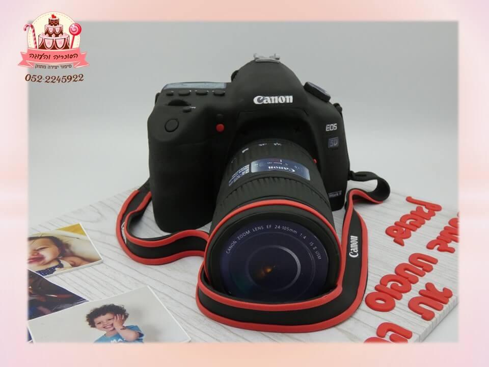 עוגת מצלמת CANON