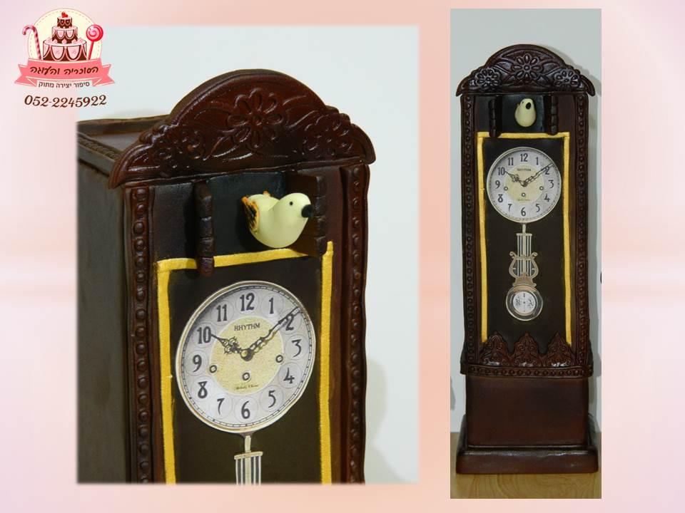 עוגה מעוצבת שעון אורלוגין עתיק