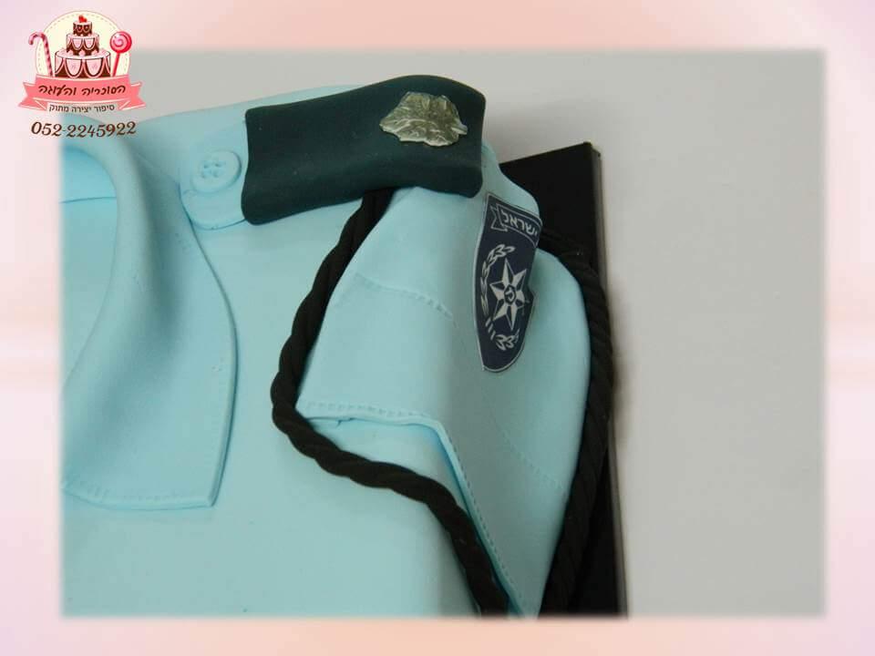 עוגה מעוצבת לשוטר, עוגות יום הולדת למבוגרים | הסוכריה והעוגה - דורית