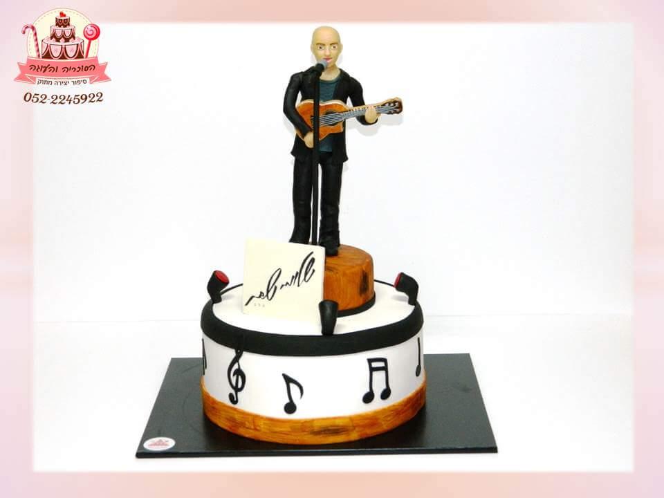 עוגה מעוצבת לשלומי שבת, עוגת יום הולדת למבוגרים, מעוצבות בצק סוכר | הסוכריה והעוגה - דורית יחיאל