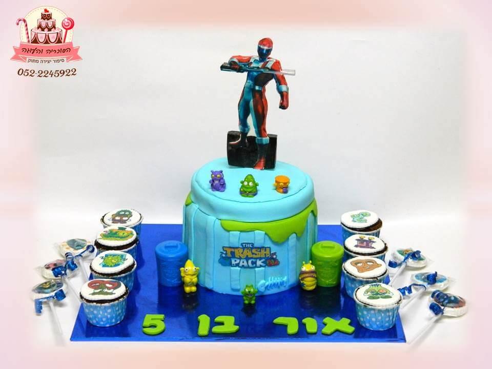 עוגת יום הולדת זיבלונים