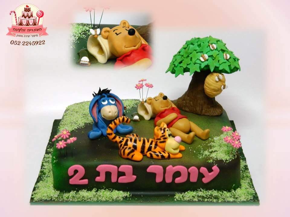 עוגת יום הולדת טיגר וחברים