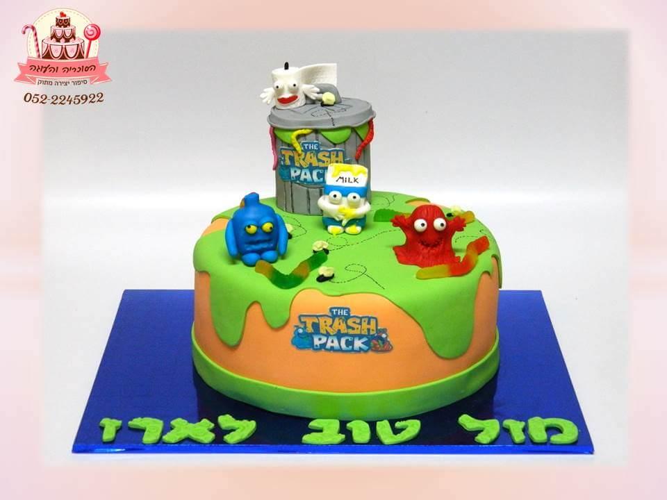 עוגת בצק סוכר הזיבלונים, עוגות יום הולדת לבנים, מעוצבות בצק סוכר | הסוכריה והעוגה - דורית יחיאל