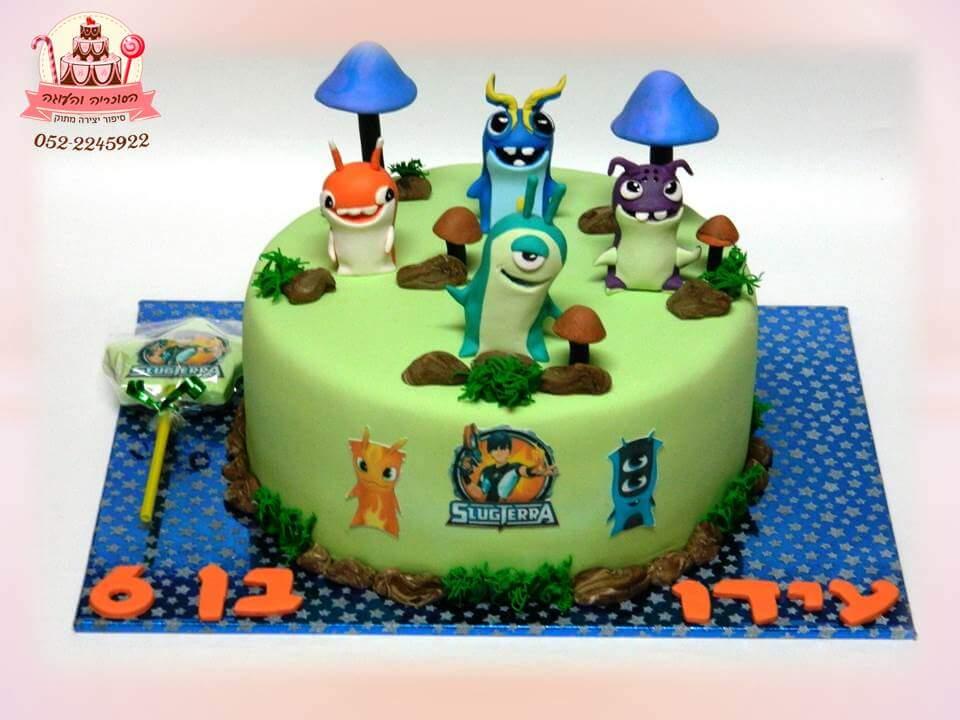 עוגת יום הולדת 6, עוגות יום הולדת לבנים, מעוצבות בצק סוכר | הסוכריה והעוגה - דורית יחיאל