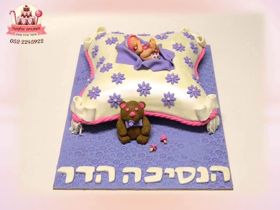 עוגה מעוצבת לנסיכה שנולדה