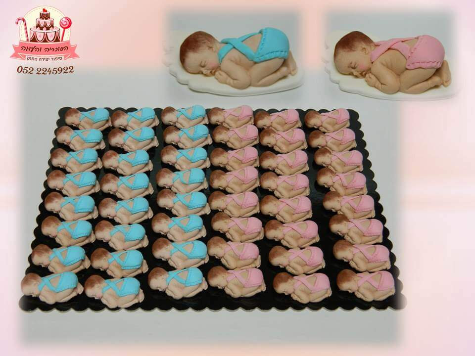 תינוקות בצק סוכר לחולקה