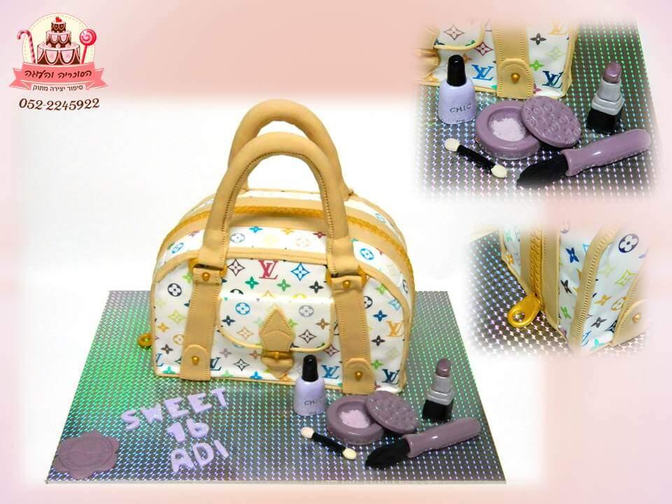 עוגת יום הולדת תיק מעוצב